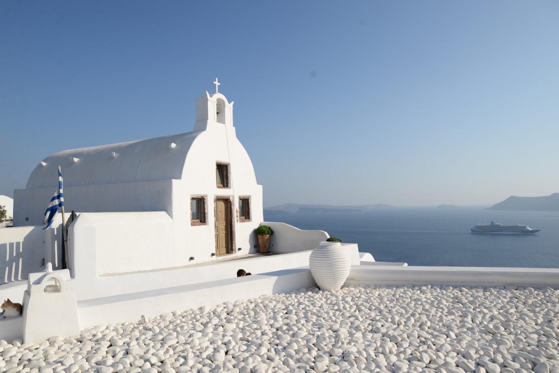 Santorini Oil Greece